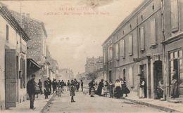 CPA (81) CAGNAC Rue Groupe Scolaire Et Mairie (2 Scans) - Altri Comuni