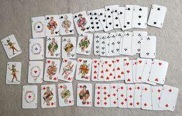 Boite 2 Jeux Jeu Miniature De Cartes 54 Cartes à Jouer PIATNIK & Shne Wien 89 NR 119 Playing Cards Vintage - 54 Cards
