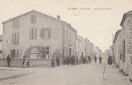 CPA (81) CAGNAC Avenue D' Albi Café Terminus SALVETAT (2 Scans) - Altri Comuni