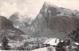 74 -  SAMOENS Vue Panoramique Et Le CRIOU - CPSM Dentelée N/B Format CPA 1950-60's - Haute Savoie - Samoëns
