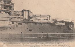 """Tourelle Avant Du Cuirassé """"Le Suffren"""" Pour Les Tirs Réels Du Cuirassé """"Masséna"""" ... - Warships"""