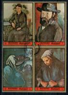 MANAMA  1972 CESANNE    PAINTINGS           SHEET  4 STAMP    USED - Manama