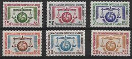 Col Génér. 1963 15°annivers. Déclarations U Des Dts De L'homme. Cote 62.30€ - France (ex-colonies & Protectorats)