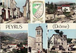 26 PEYRUS / MULTIVUES SAVEC BLASON / DENTELEE - Autres Communes