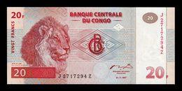 Congo 20 Francs 1997 Pick 88A SC UNC - Democratic Republic Of The Congo & Zaire