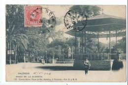 VALENCIA : Paseo De La Glorieta - Edicion Vicente Boira N°735 - Valencia