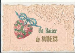 AR 597 /  C P A  -   SUBLES   (14)   UN BAISER DE SUBLES - France
