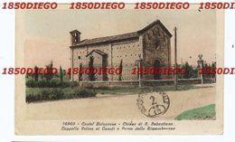 CASTEL BOLOGNESE - CHIESA DI S. SEBASTIANO F/PICCOLO VIAGGIATA - Ravenna