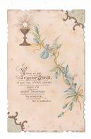 Citation Mgr De La Bouillerie Et Fleurs, Eucharistie, éd. Bonamy N° 258-1 - Images Religieuses