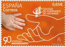 ESPAGNE SPANIEN SPAIN ESPAÑA 2020 90 ANIV  COLLEGE ORCHANS OF PUBLIC STATE HUÉFANOS HACIENDA MNH ED 5406 MI 5442 YT 5145 - 1931-Aujourd'hui: II. République - ....Juan Carlos I