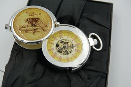 Watches : HERITAGE COLLECTION HAND WIND: Ingenio Leonardo Da Vinci  -original With Original Box And Certificat - Running - Relojes De Bolsillo