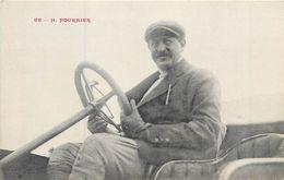 CPA 76 Dieppe Henri Fournier Pilote Coureur Automobile Au Volant De Son Itala - Sport - Grand Prix ACF - Dieppe