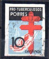 Sello Nº 840 Sin Dentar España - 1931-50 Usados
