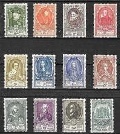 OCB Nr 880/91 UPU Complete Set ( SANS Gomme - ZONDER Gomme - Nr 886 Met Scheurtje Links Onder Avec Déchirure Bas Gauche) - Unused Stamps