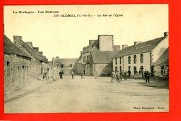 22 GLOMEL  La Rue De L'église - Other Municipalities