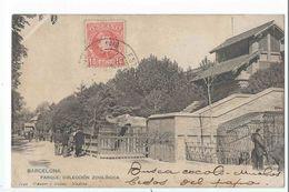 BARCELONA : Parque - Coleccion Zoologica - Edicion Hauser Y Menet N°1142 - Barcelona