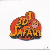 """Pin's Cinéma - Film """"Safari Africa """"3D Réalisé Par Ben Stassen Avec Montgolfière. Est. La Boîte à Pin's. Zamac. T735-17 - Montgolfières"""