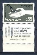 Israel - 1963, Michel/Philex No. : 282,  - MNH - *** - Full Tab - Israël