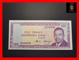 BURUNDI 100 Francs 1.5.1993  P. 29  UNC - Burundi