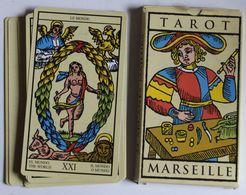 Jeu De Tarot Divinatoire De Marseille Cartomancie Voyance 22 Arcanes Majeures éditions Fabbri 2002 - Tarocchi