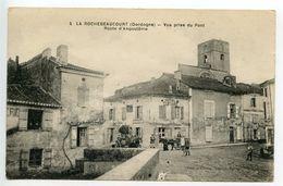 La Rochebeaucourt Vue Prise Du Pont Route D'Angoulême - France