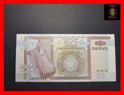 BURUNDI 50 Francs 19.5.1994  P. 36 A  UNC - Burundi