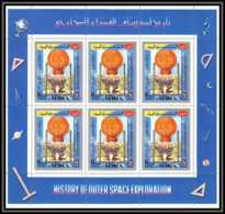 Yemen Royaume (kingdom) - 4073/ N°864 A Montgolfier Montgolfiere Balloon Neuf ** MNH History Of Outer Space Espace - Raumfahrt