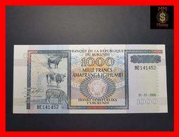 BURUNDI 1.000 1000 Francs  1.7.2000  P. 39  UNC - Burundi