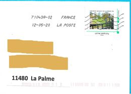 Montimbramoi Fricourt Bataille De La Somme 1916 Lettre Verte 20 Gr Toshiba - Personalized Stamps (MonTimbraMoi)