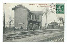 CPA ENVIRONS DE NANCY - LA GARE D'EULMONT - AGINCOURT - Frankrijk