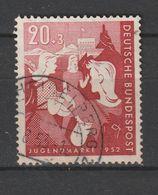 Bundesrepublik Deutschland / 1952 / Mi. 154 Gestempelt (BO70) - Usados