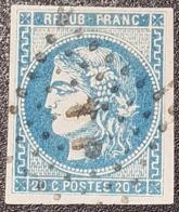 Emission De Bordeaux N° 46A (Variété), Avec Oblitération Losange Petites Lettres  TTB - 1870 Emission De Bordeaux