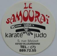 KARATE - JUDO / Sport - Arts Martiaux / Le Samourai à Villeurbanne - Autocollant - Adesivi