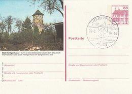 Bundesrepublik Deutschland / 1986 / 4 Bildpostkarten Je Mit Bildgleichem STempel (BO76) - [7] Federal Republic