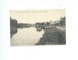BRAY SUR SEINE  VUE GENERALE DE LA SEINE  LES QUAIS - Bray Sur Seine