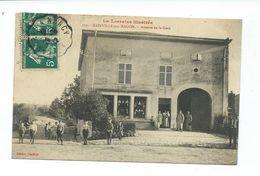 CPA LA LORRAINE ILLUSTREE - BAINVILLE SUR MADON - AVENUE DE LA GARE - ANIMEE - Frankrijk