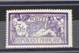 Merson 3 F Violet Et Bleu NEUF Aucune Trace D'usure Ni D'humidité  N°206 VALEUR 60 EUROS - Unused Stamps