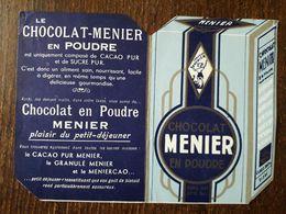 L18/169 Petit Calendrier Publicitaire Chocolat Meunier . 1953 - Calendars