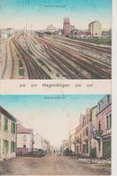 HAGONDANGE - 2 VUES - RUE DE LA GARE - Hagondange