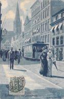 Stettin - Kl.Domstrasse Und Jacobikirche S/w 1913 - Pommern