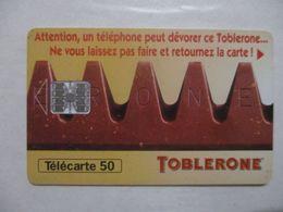 TÉLÉCARTE FRANCE - TOBLERONE / PUBLICITÉ - FRANCE TELECOM BON ETAT - Advertising