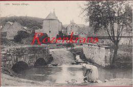 Sosoye Anhee Namur Village Animee 1910 Geanimeerd (En Très Bon état) - Anhée
