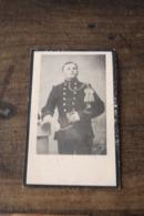 1914 1918 Doodsprentje Foto Soldaat +1915 Ijzer Bourguignon Brussel 2e Jagers Te Voet - Religion & Esotericism