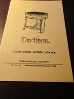 Huldenummer Antoon Lowyck - Priester - Brugge - Heemkunde - Lokale Geschiedenis - Ontwikkeling