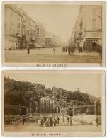 Lot 8 Photos Albuminés Cdv Marseille Vers 1870/80 - Anciennes (Av. 1900)