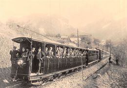 BVA - Les Posses - Gryon  - Bex Villars Bretaye - Ligne De Chemin De Fer - Train - Ce 2/4 81 -   B.V.B. - BVB - VD Vaud