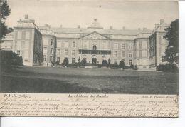 REF1366/ Belgique-België CP-PK Le Château Du Roeulx TP 58 FB C.Roeulx 1901 > Triberg Gd Duché De Bade C.d'arrivée - Le Roeulx