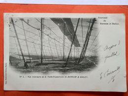 CPA.Cirque Souvenir De Barnum & Bailey.Vue Intérieure De La Tente Hippodrome.  (D1.784) - Circo