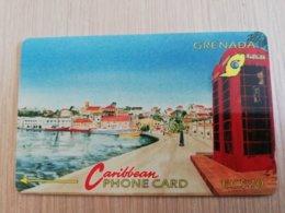 GRENADA  $ 20,- GPT GRE-4C  CARENAGE ST GEORGES   MAGNETIC    Fine Used Card    **2231 ** - Grenada