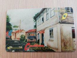 GRENADA  $ 40,- GPT GRE-4D  STREET SCENE GOUVYAVE   MAGNETIC    Fine Used Card    **2232 ** - Grenada